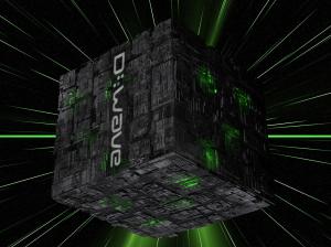 dwave-borg-cube